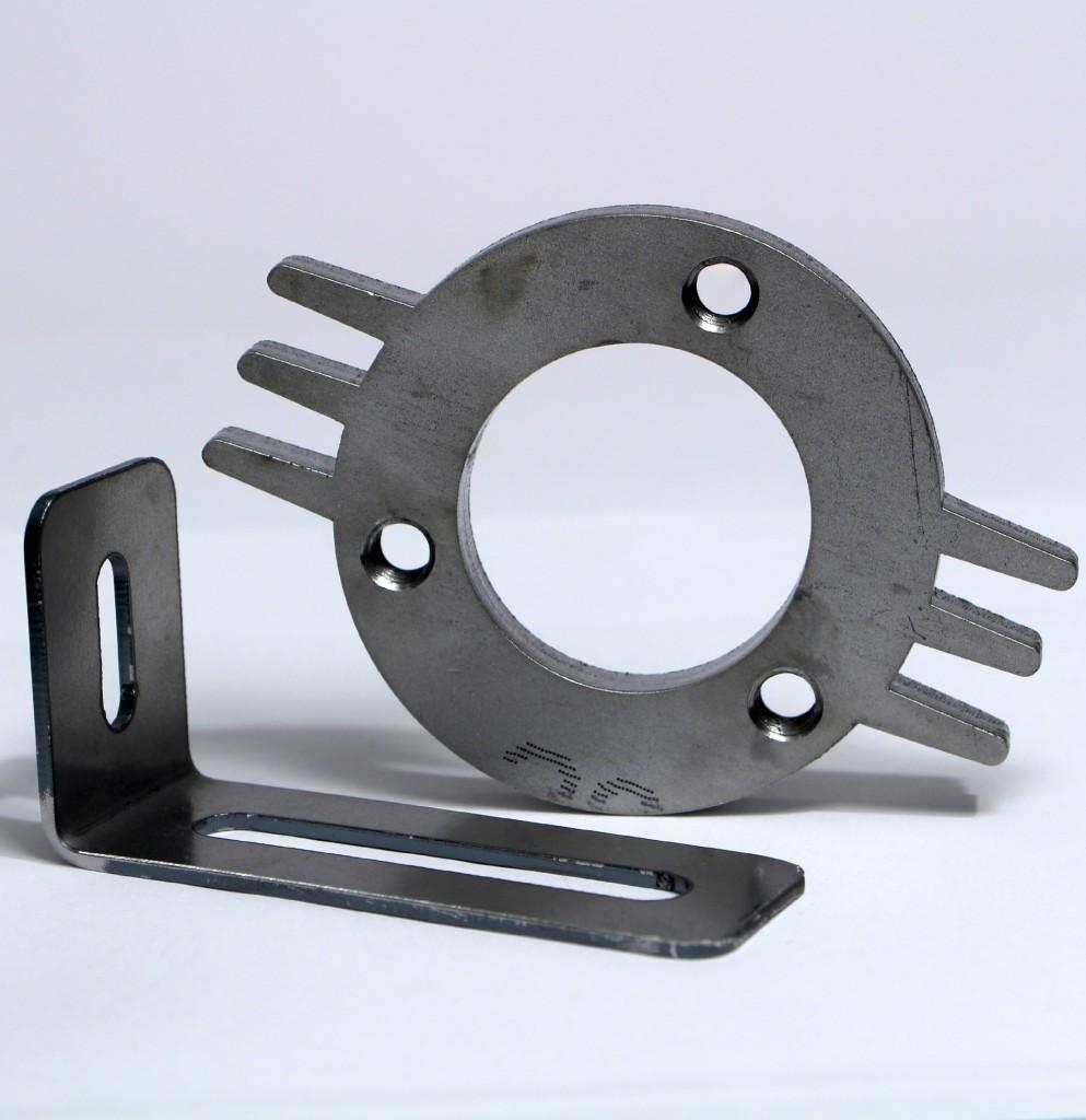 Laserteil aus Stahl
